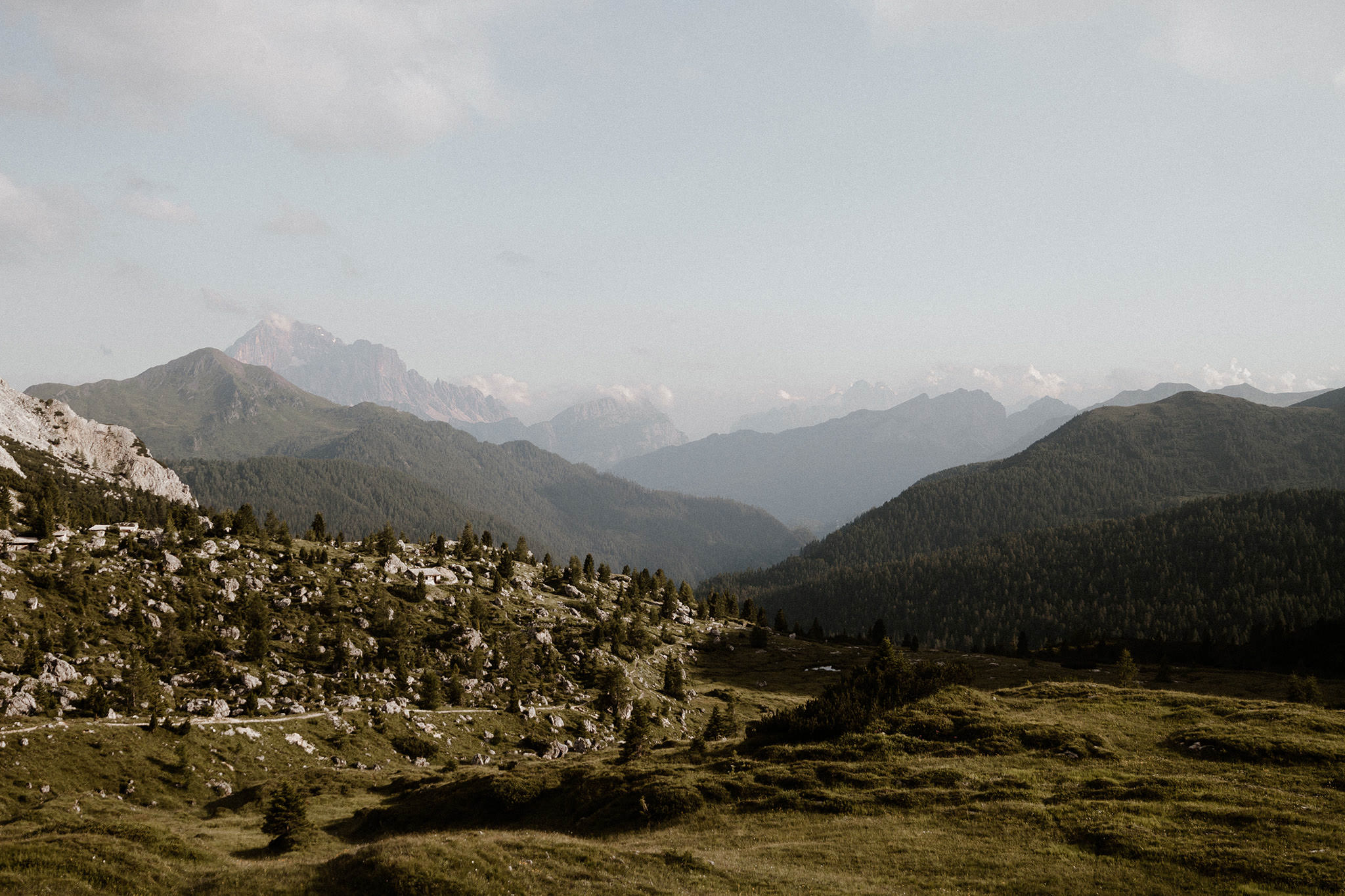 The Dolomite mountainrange provide an epic view for any adventurous wedding ceremony